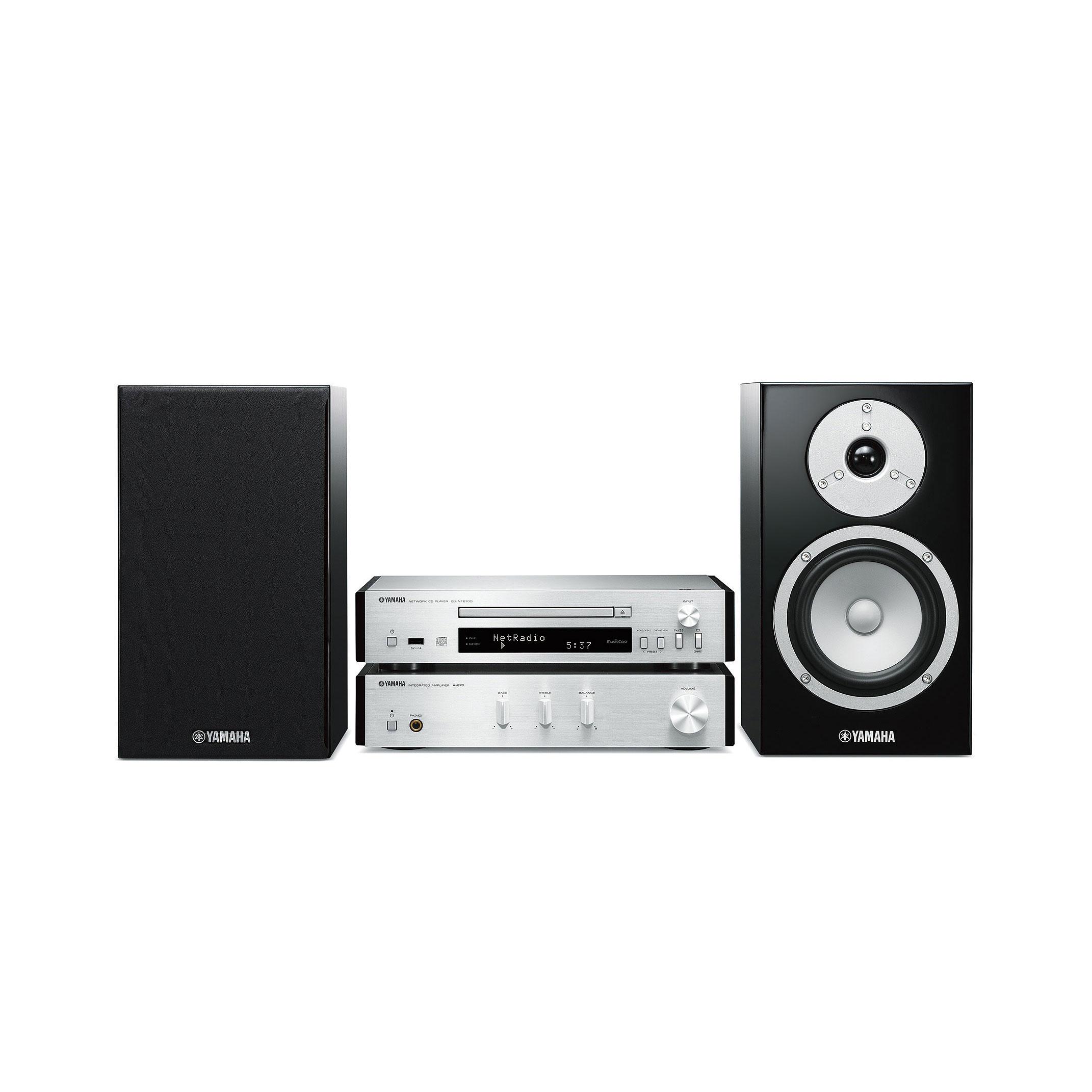 Yamaha MusicCast MCR-N670D Mini System