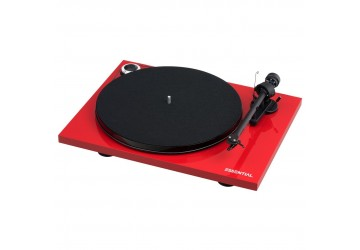 Project Essential III Digital Turntable - Red