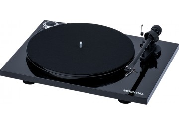 Project Essential III Phono Turntable + FREE Vinyl