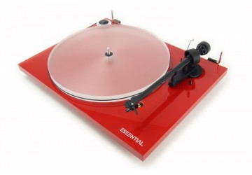 Project Essential III Acrylic Turntable + FREE Vinyl