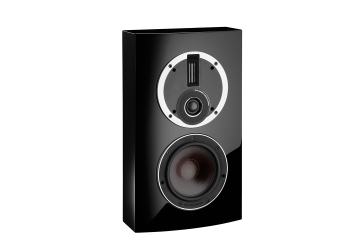 DALI Rubicon LCR On-Wall Speaker in black gloss