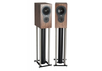 Rega RX1 Bookshelf Loudspeakers Walnut