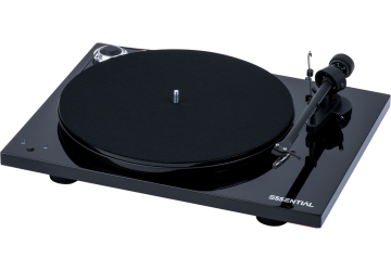 Project Essential III SB Turntable - Black