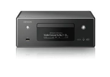 Denon CEOL N-11 Network CD Player - Front Black