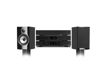 Audiolab 6000A, 6000CDT, 6000N & Bowers and Wilkins 706 Package