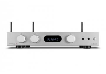 Audiolab 6000A Play Streaming Integrated Amplifier - Silver - Front