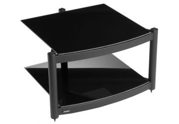 Atacama Equinox Hifi RS Base Module Satin Black with Piano Black Glass