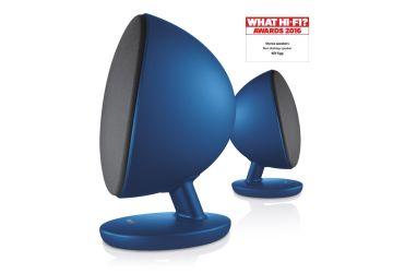 KEF Egg Bluetooth Active Speakers Blue