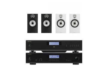 Rotel A11 & CD11 & Bowers and Wilkins 606 Package
