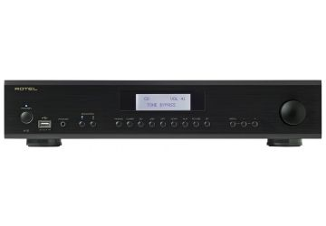 Rotel A12 Integrated Amplifier Black