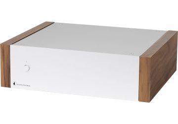 Project Amp Box DS2 Mono - Silver & Walnut