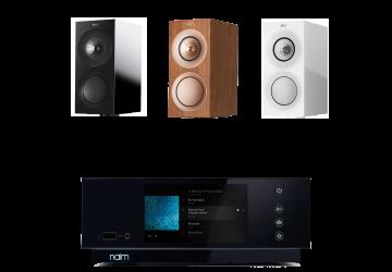Naim Uniti Atom + KEF R3 Speaker Package