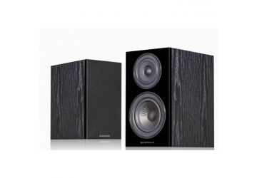 Wharfedale Diamond 12.1 Bookshelf Speakers - Black Oak