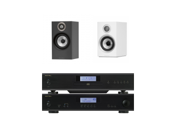 Rotel A11 & CD11 & Bowers and Wilkins 607 Package