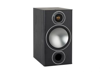 Monitor Audio Bronze 2 Bookshelf Speaker - Black Ash