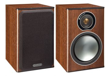 Monitor Audio Bronze 1 Bookshelf Speaker - Walnut