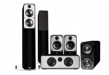 Q Acoustics Concept Cinema Pack black gloss