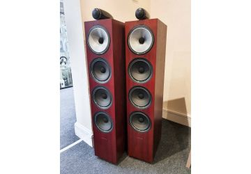 Bowers & Wilkins 702 S2 Floorstanding Speakers (Ex-Display) - With Free Chord Company Signature Links