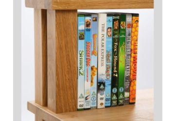 Hi-Fi Racks Podium Storage 5 Shelf DVD Display
