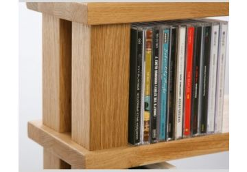 Hi-Fi Racks Podium Storage 3 Shelf CD Display