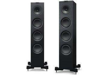 KEF Q550 Floorstanding Loudspeakers satin black