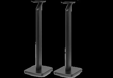 KEF S1 Floor Stands - For KEF LSX (Black)
