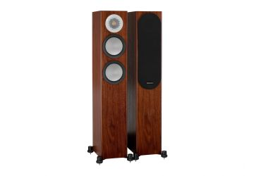 Monitor Audio Silver 200 Floorstanding Speakers - Walnut