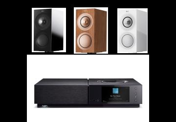 Naim Uniti Nova + KEF R3 Speaker Package