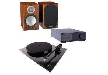 Rega Planar 2 & IO & Monitor Audio Silver 50 Package