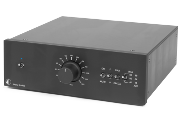 Project Phono Box RS in black finish