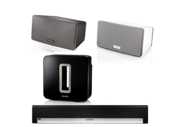 Sonos Playbar, Sub & Play 3 package