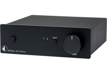 Project A/D Box S2 Phono - Black