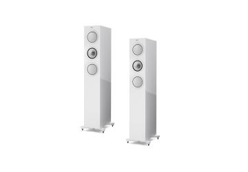 KEF R5 Floorstanding Loudspeaker - White