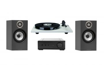 Rega Planar 1 & io System Package - With Bowers & Wilkins 607 Speakers