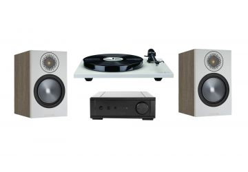 Rega Planar 1 & io System Package - With Monitor Audio Bronze 50 Speakers