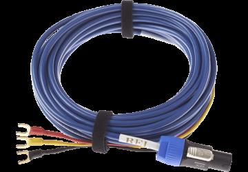 REL Bassline Blue Subwoofer Cable