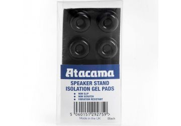 Atacama Speaker Stand Isolation Gel Pads - Black