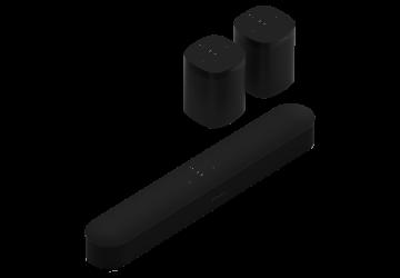 Sonos Three Room Set with Beam / One