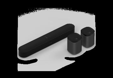Sonos Surround Set with Beam / Play:1 - Black