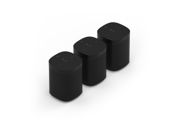 Three Room Set with Sonos One - Black
