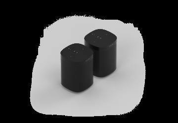Sonos One - Black Pair
