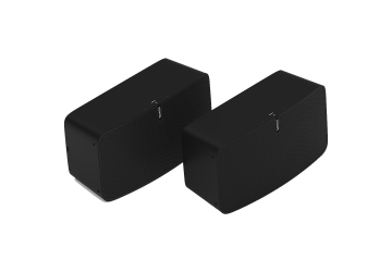 Sonos Two Room Set with Play:5 - Black