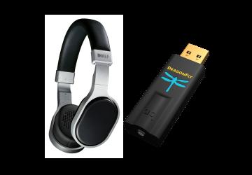 KEF M500 & Dragonfly Black Package