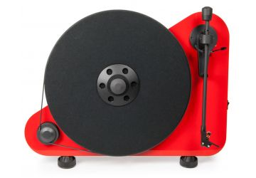 Project VT-E BT Bluetooth Vertical Turntable - Red