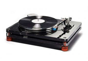 Vertere Acoustics MG-1 Magic Groove Turntable - Metallic Black