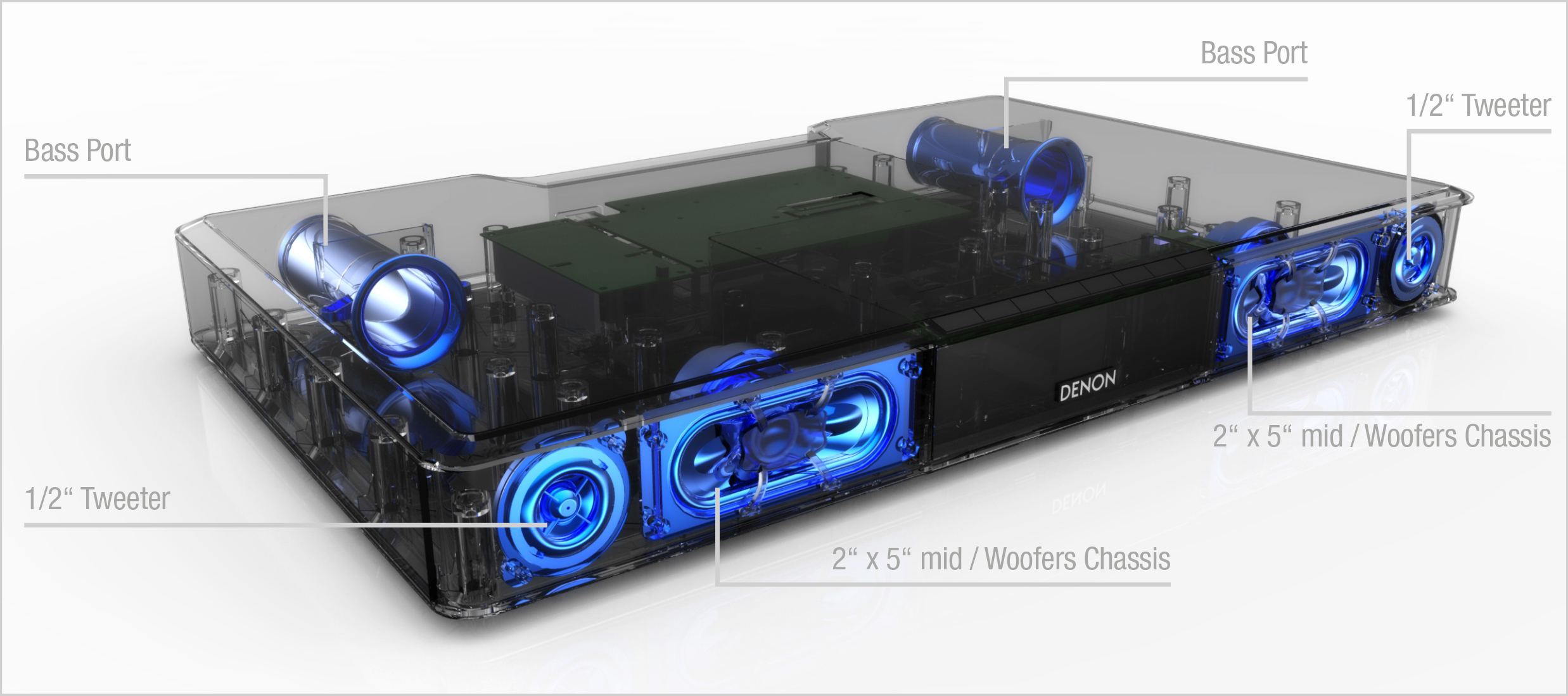 Bose Stereo >> Denon Launch DHT-T100 Soundbase   HiFi Gear Blog