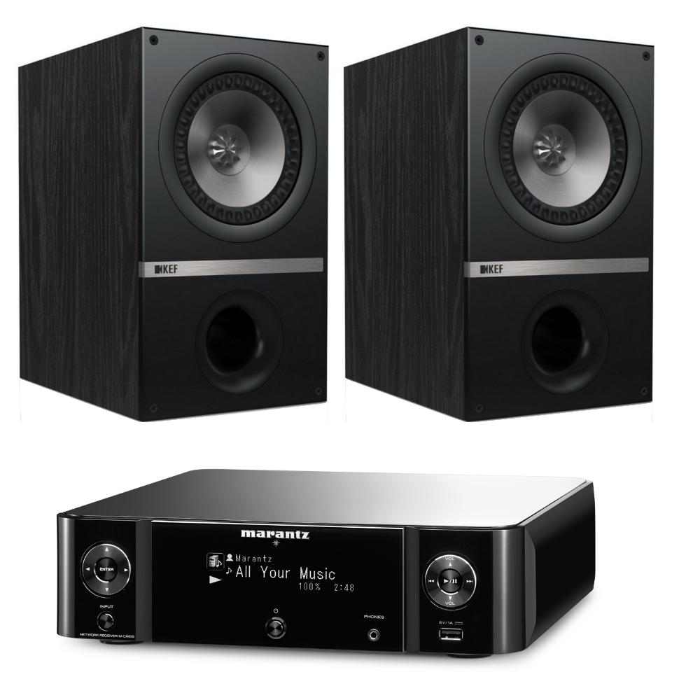 kef 5.25 uni q bookshelf speakers q100