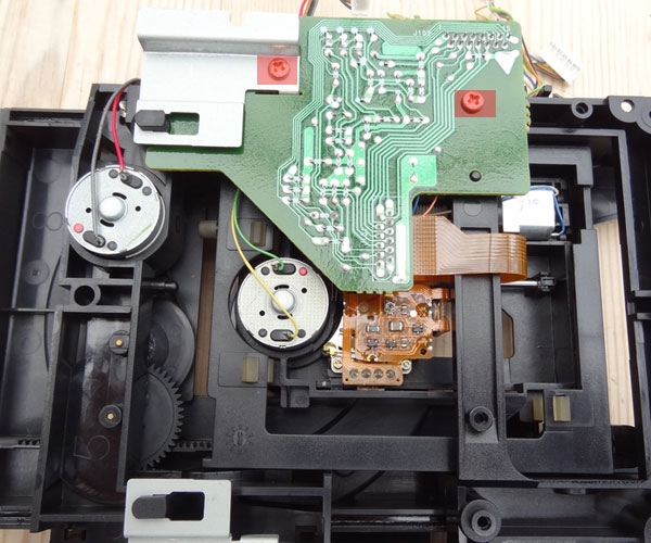 RF amplifier PCB removal