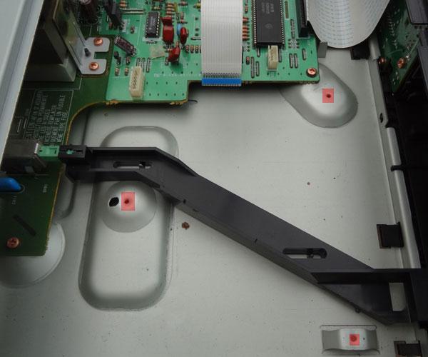 CD63SE - CD transport removed