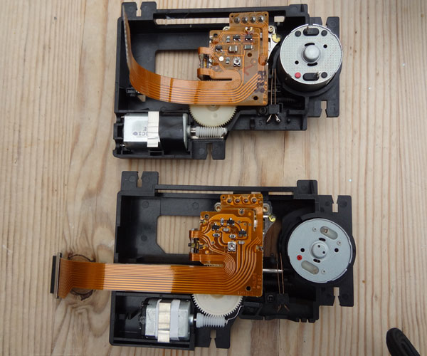 Comparing original CDM12.1 (top) with replacement VAM1202 (bottom)